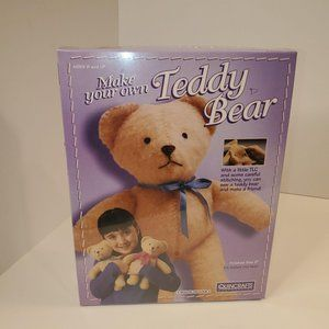 Make Your Own Teddy Bear 9 Inches By Quincrafts Vi